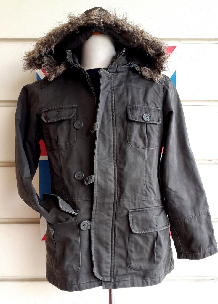 ADORABLE PARKA | size M (fit M) | IDR 249.000 | 80% condition | 'removable fur' 'removable hood'