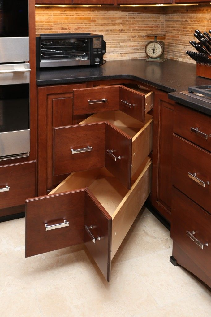 31 best Special Cabinet Features images on Pinterest | Kitchen ...