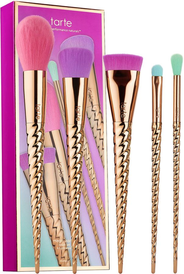 tarte Make Believe In Yourself: Magic Wands Brush Set. This is an affiliate link.