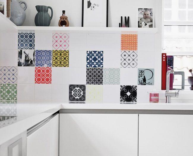 Fototapete küche fliesenspiegel  Die 25+ besten Fliesenspiegel Ideen auf Pinterest | schwarze und ...