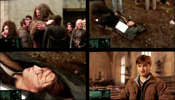 """""""It was very odd.  Seeing the dead version of myself there was very funny, especially as they did bring it on in a kind of body bag, it's how they sort of transport it.  So they came on set, unzipped me, and there I was.  It was strange."""" -Dan: Actors Tv Random Movies Mus, Boooooks Movies 3, Bloodyhel Harry, Harry Potter Everything, Funny, Body Bags, Harry Potter 3, Hp Actor, Entertainment Harry Potter"""