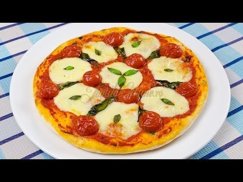 Pizza margherita - reteta video | JamilaCuisine
