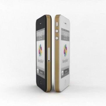 BumpSkin - Super fina piel para el iPhone 5 y 5 S, color oro -> 6'90 €