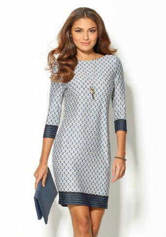 Elegantní, pohodlné a lichotící postavě ;) #style #dress #modino_style #modino_cz #fashion