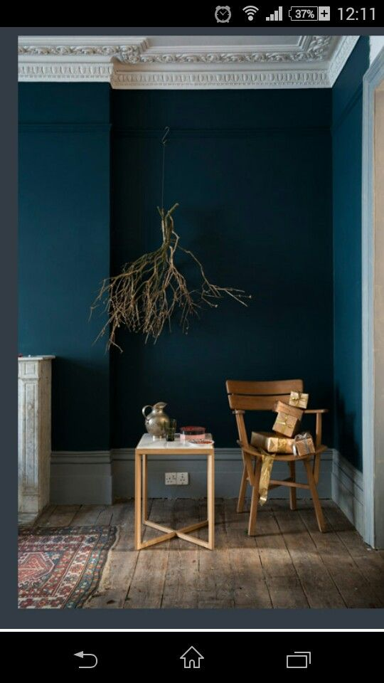 Hague blue couleur pinterest for Couleur farrow and ball