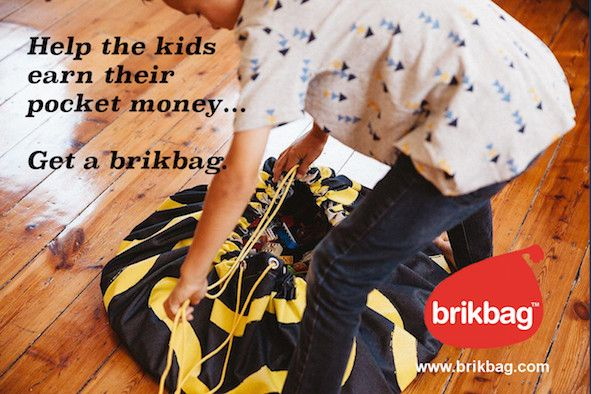 Clean floors in the house! We can help with that. :-) www.brikbag.com