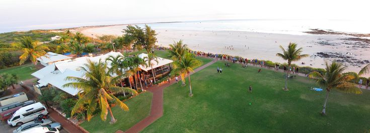 It would be complete magic to eat at Zanders whilst watching the sunset over cable beach. Approximately a 4 minute drive from the Pearle Resort. No indication of price.