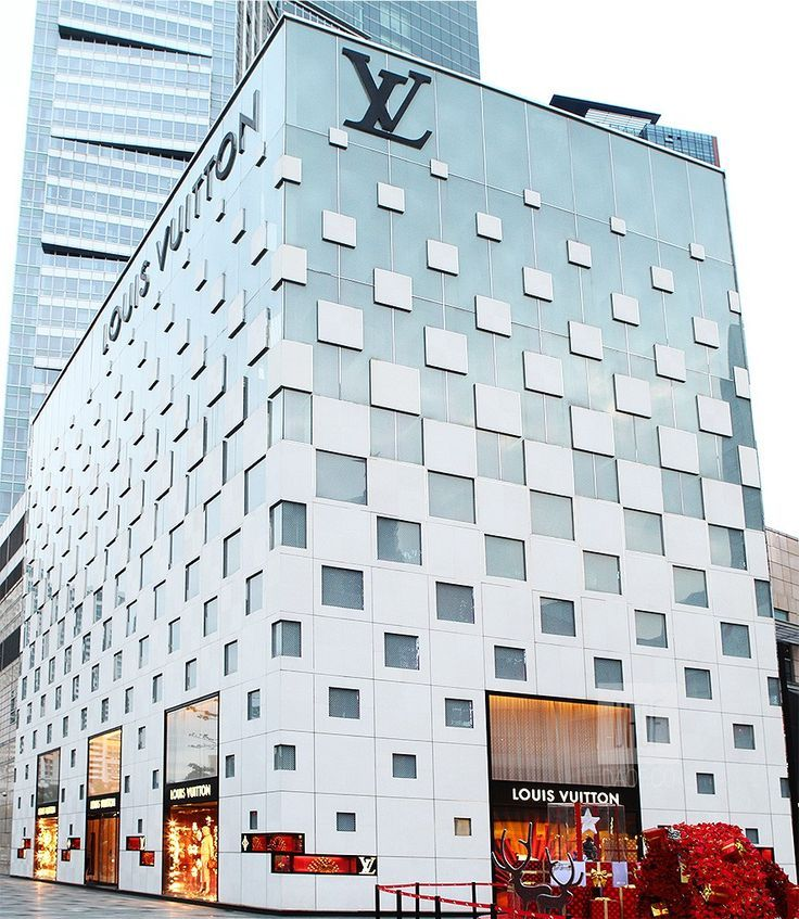 louis vuitton stores architecture - Google zoeken