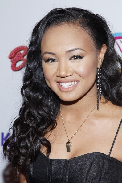 Cymphonique Miller (African-American, Filipino, Spanish) [American] Known as:  Actress & Singer (Daughter of Master P; Sister of Romeo/Lil' Romeo)