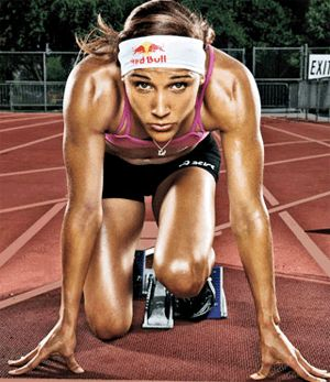 famous female athletes | LoLo Jones Makes Oakley Billboard Appearance in Times Square