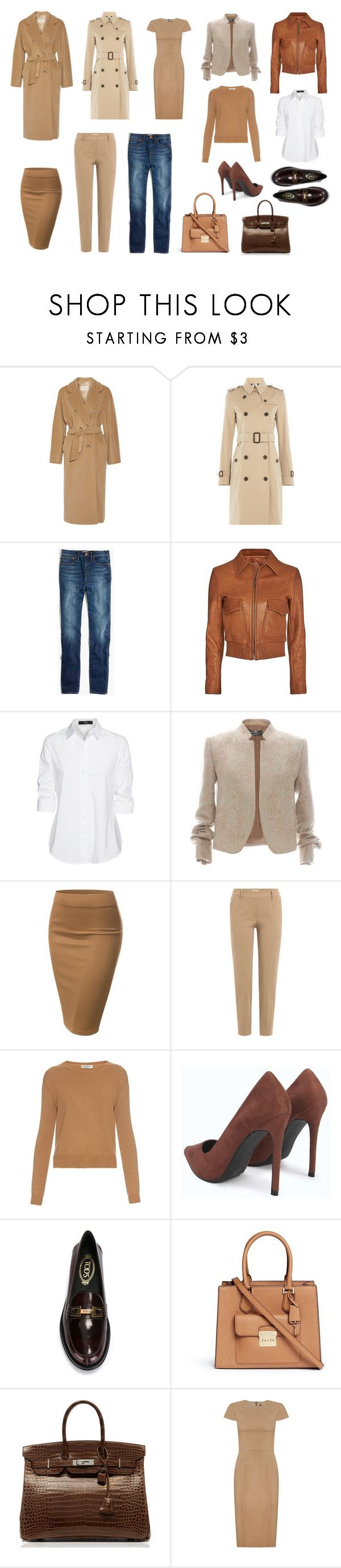 """""""Base group"""" by viktoria-kot ❤ liked on Polyvore featuring MaxMara, Burberry, Madewell, Helmut Lang, Steffen Schraut, Salvatore Ferragamo, J.TOMSON, Brunello Cucinelli, Valentino and Tod's"""