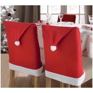 festins de noel | Housse de chaise de Noël
