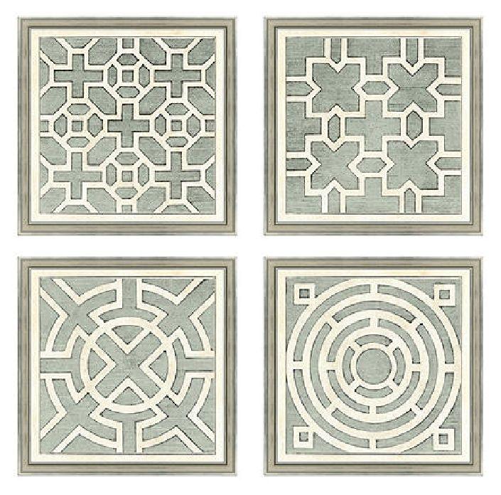 garden plan prints