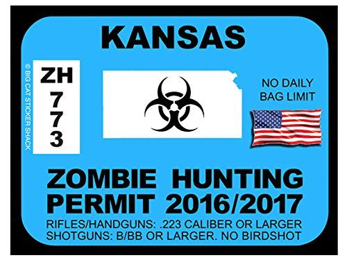 227 best images about zombie hunting permits on pinterest for Ks fishing license