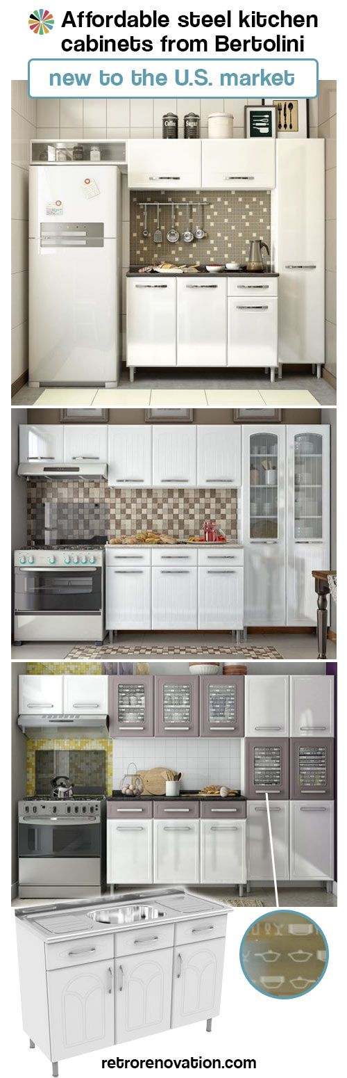 Ikea Move Over Bertolini Steel Kitchens Introduces Affordable Ready To Assemble Metal Kitchen Cabinets To The U S