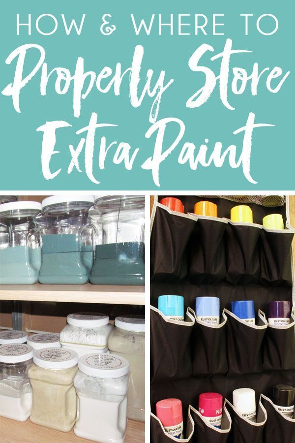 Does Paint Go Bad >> How To Properly Store Dispose Of And Recycle Paint And Paint Cans