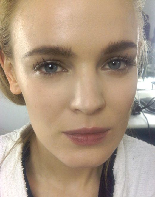 Backstage at Carven show in Paris – All about natural beauty