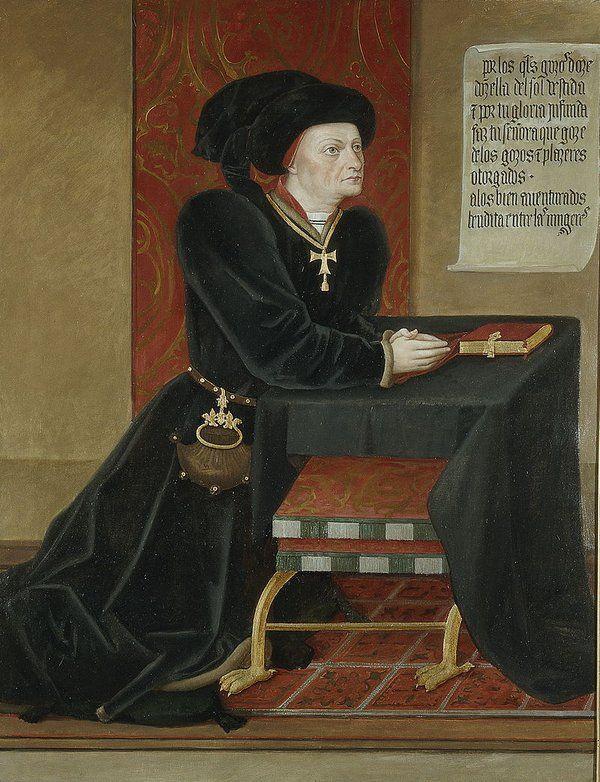 25 de Marzo 1458: fallece Íñigo López de Mendoza, poeta español del Prerrenacimiento y I Marqués de Santillana.