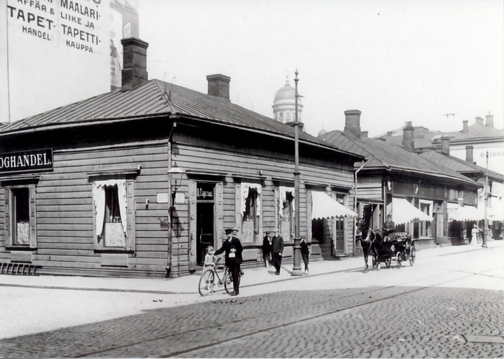 Aleksanterinkatu  Helsinki, Signe Brander, 1907