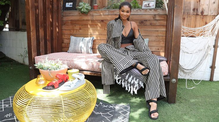 Chanel Iman dishes on her favorite Coachella fashions at Teva event #Fashion #Dressing #Style