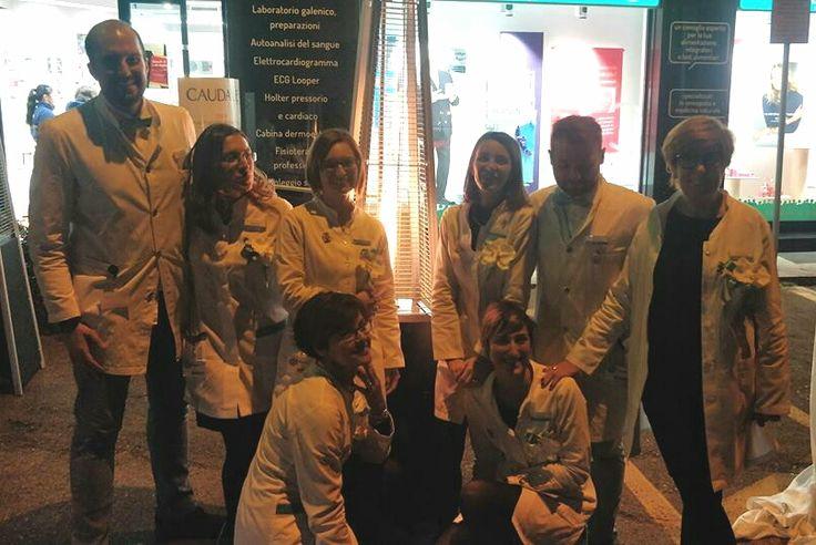 Forse qualcuno non avrebbe scelto venerdì 17 del 2017, per una inaugurazione, ma loro sì. Si è svolta ieri a San Lorenzo di Parabiago l'inaugurazione della nuova farmacia, in via Croce all'angolo con il Sempione SS33, rinnovata all'interno anche nei suoi servizi.