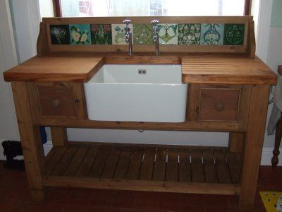 Stand Alone Laundry Sink : freestanding kitchen sink: Side By Side Sinks, Awesome Sink, Unfitted ...