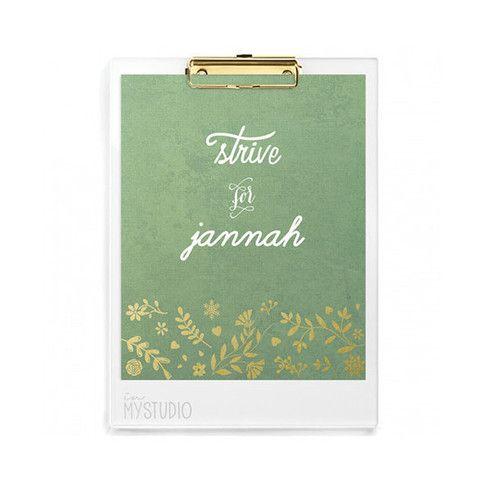 Strive for Jannah Digital Print
