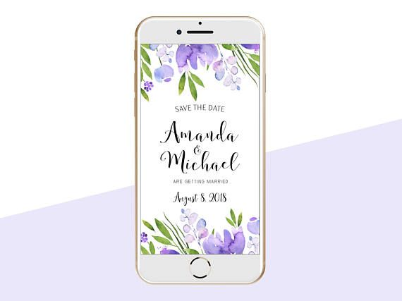 Electronic Wedding Invitation: 25+ Best Electronic Save The Date Ideas On Pinterest