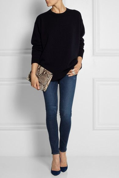 Frame jeans, Gianvito Rossi heels,