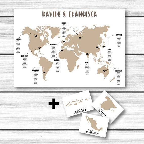 Segnaposto Matrimonio Da Stampare.Tableau De Mariage Segnatavoli Matrimonio Mappa Download