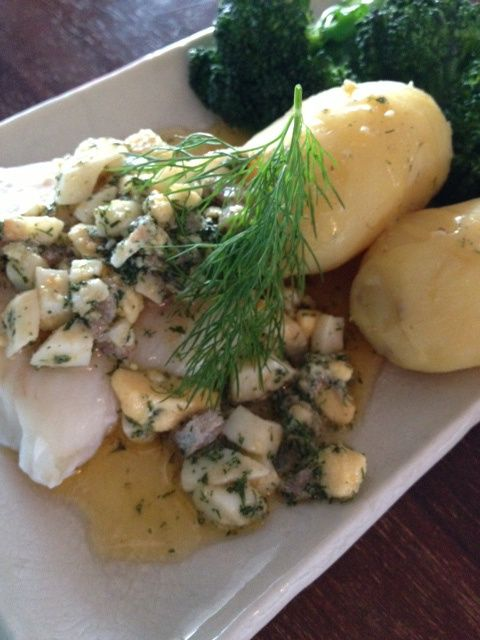 Codd from Öresund. With an extra swedish twist: Gubbröra! Get the recepie: http://oresunt.wordpress.com