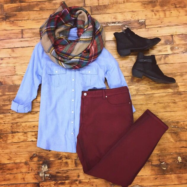 Today's OOTD! You might say we're a little excited for fall fashion.