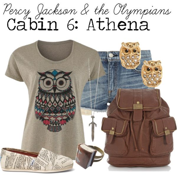 Cabin 6: Athena (Percy Jackson Series)