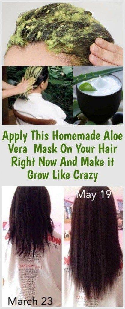 Tragen Sie diese hausgemachte Aloe Vera Maske jetzt auf Ihr Haar auf und lassen Sie es wie verrückt wachsen