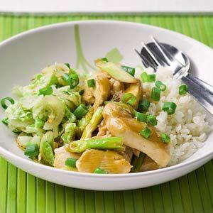 Recept - Kip teriyaki met geroerbakte Chinese kool - Allerhande