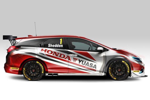 Honda to field this awesome Civic Tourer wagon in BTCC next season. aol.it/IqgZah @Honda #CivicTourer #BTCC