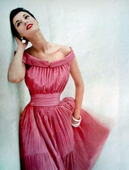Fashion for Glamour magazine, 1951