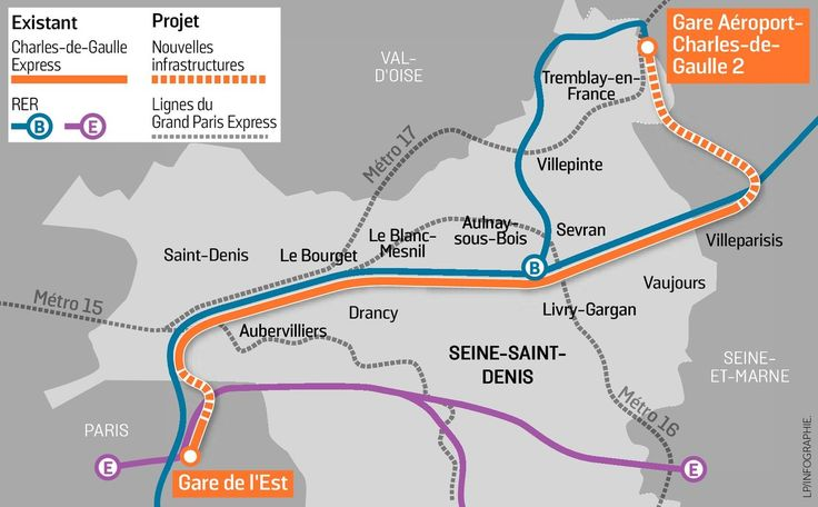 The proposed express train line between central Paris and Charles de Gaulle airport, that will cut journey times to 20 minutes, got final approval from the French parliament on Tuesday, meaning it's on track for 2023.