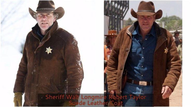 """Introducing new Outfit in Men's Fashion that Perfectly Suits in All Occasions This is """" Sheriff Walt Longmire Robert Taylor Suede Leather Coat For Men """". Made with 100% Quality Suede Leather. Place your Order and get The Longmire Coat in Reasonable Price at eBay!"""