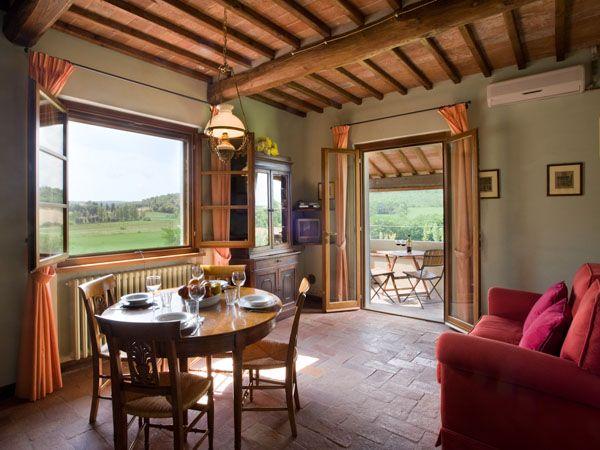 Italy Villa Rentals - Apartment Rental in Lucignano, Tuscany - Madrigale | Parker Villas