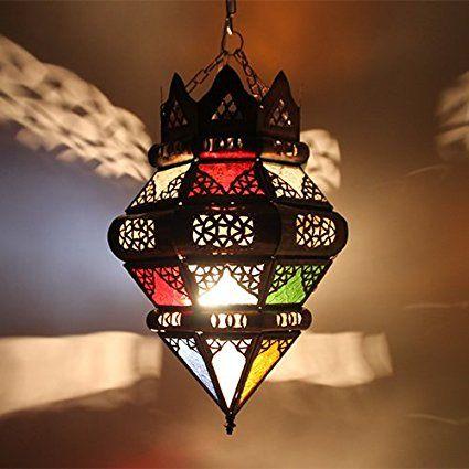 crean marroquí Lámpara Techo bombilla lámpara Farol lwadaya 40CMH: aladi nbazarcom