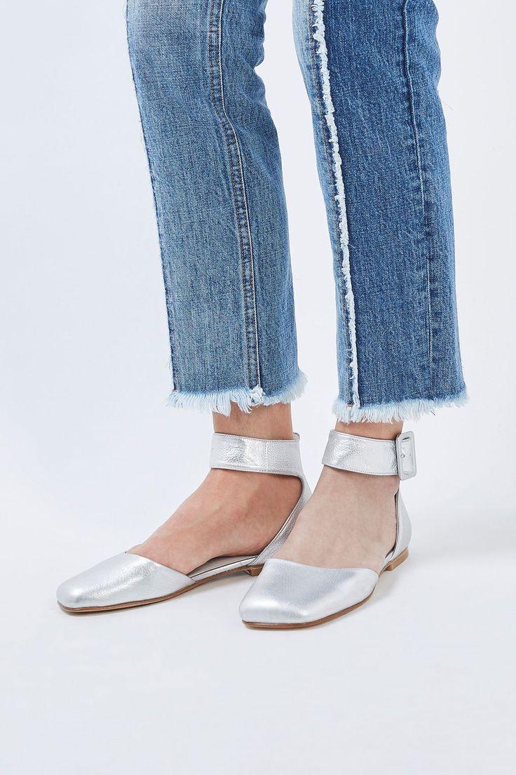 Buckle Sandals by Molly Goddard x Topshop