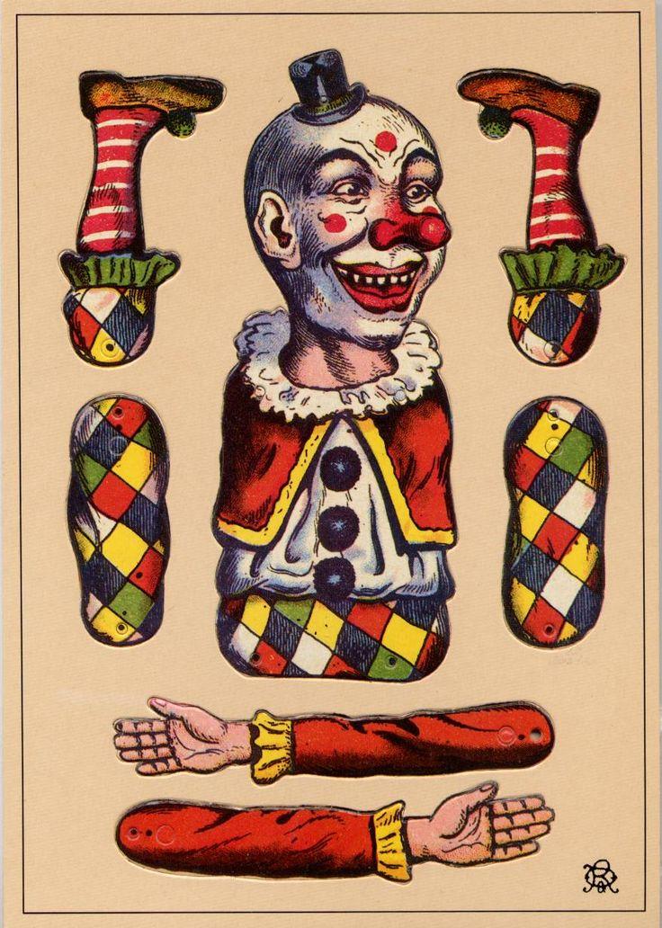 Clown (c) 1988 Franz-Josef Holler . München Made in Germany