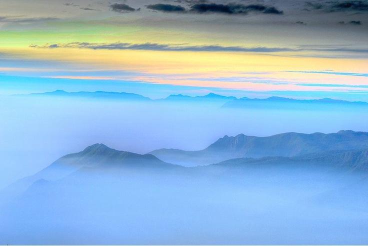 Blue Mountain  -  Kodaikanal, India