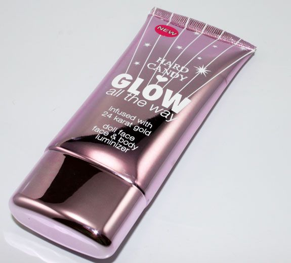 This is what I use for my highlighter. I have tried out MANY highlighters and it is indeed my favorite part of the makeup look. This is the BEST one I have found thus far. It is beautiful! I put it on under my airbrush makeup and it is just amazing! It beams through the makeup and still has the shimmer and the best glow and it's not cakey or oily. It is amazing! Hard Candy Glow All The Way