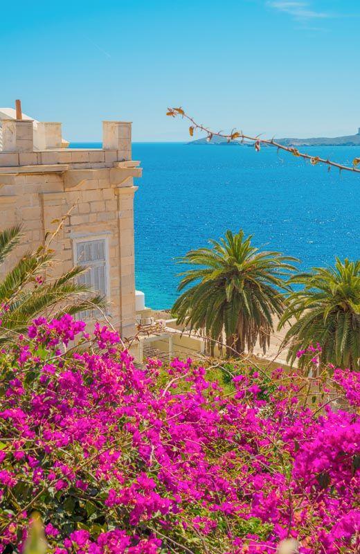 Fototapeta F5495 - Syros latem