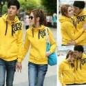 jacket couple qing kuning Bahan : Babytery lebih tebal dari kaos Ukuran : Allsize fit L  Harga : Rp.109.000,- (belum termasuk ongkir) Reseler : Min 2 pcs Rp.99.000,-  Contact : SMS : 0813 80 395129 BB : 23446833