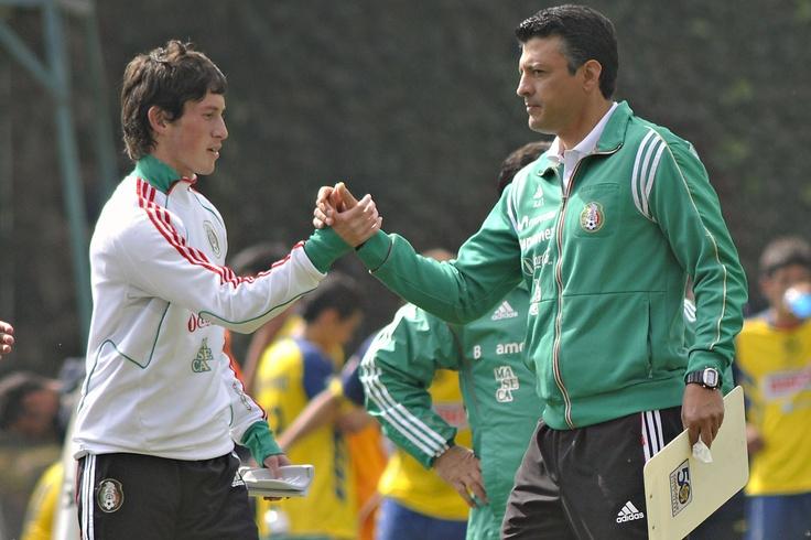 Sergio Almaguer, DT de la Selección Sub20 soccer sports