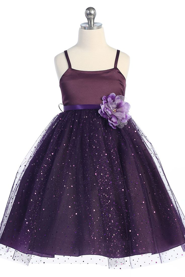 image of flower girls outfits | How to Select Perfect Purple Flower Girl Dresses