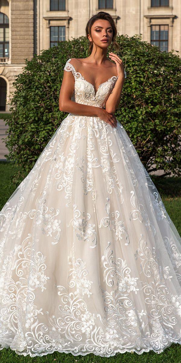 Crystal Design 2018 Wedding Dresses Royal Garden Wedding